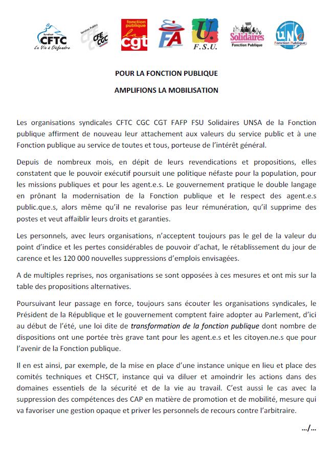 d133b60c316 Enjeux de société  Service Public Fonction Publique  22 mars 2019